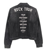 DENIM JACK : ROCK TOUR STONEWASHED BLACK _