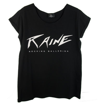 WIDE NECK TEE : RAINE