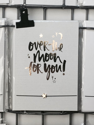 WISH CARD OVER THE MOON