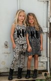 GIRLS ZEBRA DROPPED CROTCH JOGGER_
