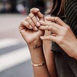 FINE HANDWRITTEN TATS LOVE & HEARTS_