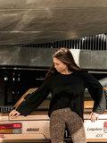 S: laatste /WOMEN : LEOPARD FLARE PUNTA MILANO STRETCH _