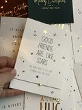 SET :10 X WISH CARDS CHRISTMAS (Do It Yourself)_
