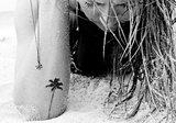 WAVES + PALM TREES TATTOOS_