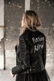 ROCKING BALLERINA BIKER JACKET ( CUSTOMIZED)_