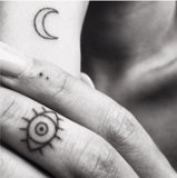 SUN, MOON & EYES...TATTOOS_
