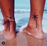 SUMMER TATS; WAVES + PALMTREES TATTOOS_