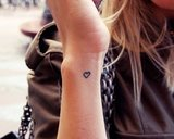 HEARTS ONLY TATTOOS_