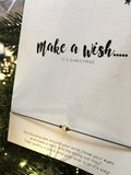 WISH CARD MAKE A WISH - CHRISTMAS_