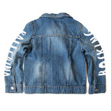 GIRLS DENIM JACKET ROCKING BALLERINA MOUWEN !_