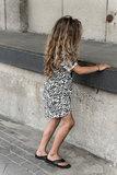 GIRLS ZEBRA DRESS_