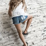 GIRLS DENIM SHORT _