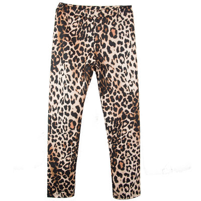 GIRLS LEGGING : LIGHT LEOPARD