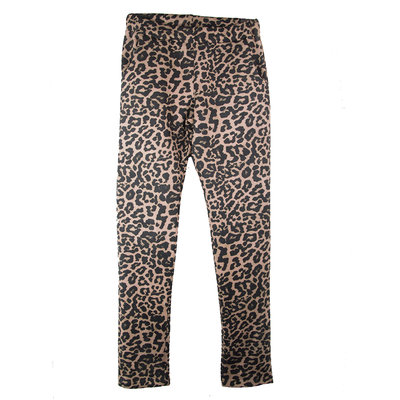 GIRLS SUEDED LEOPARD TREGGING