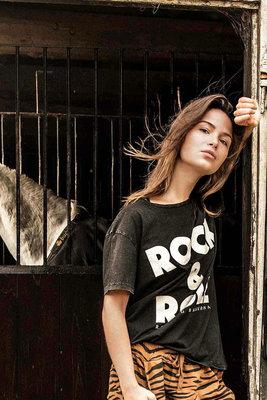 ROUND NECK TEE : ROCK & ROLL
