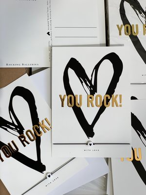 WISH CARD : YOU ROCK (Do It Yourself)
