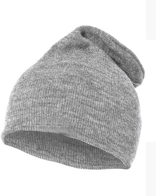 LONG BEANIE GREY