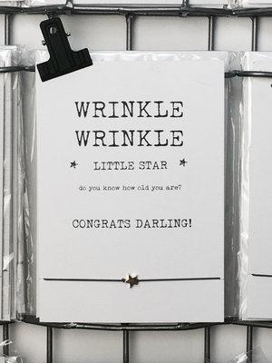 WISH CARD WRINKLE WRINKLE