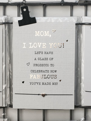 WISH CARD MOM