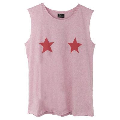 MUSCLE : STARS ROCKING BALLERINA PINK- mag niet meer retour.