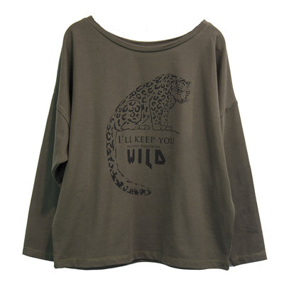 LONGSLEEVE : ROCKING BALLERINA WILD ( GIRLS)