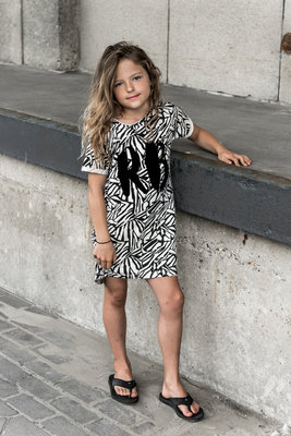 GIRLS ZEBRA DRESS