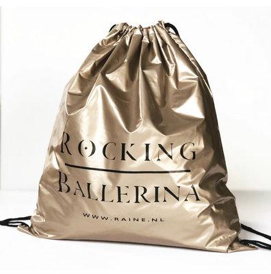 RUGZAKJE : ROCKING BALLERINA  ( GOLD)