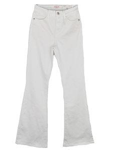 WHITE SKINNY FLARE ( CINDY)